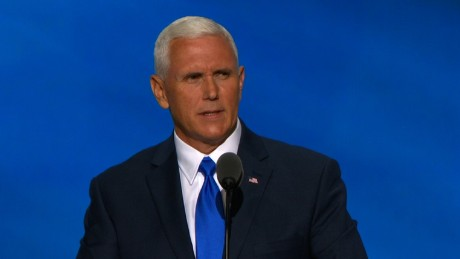 Mike Pence 2016 RNC speech