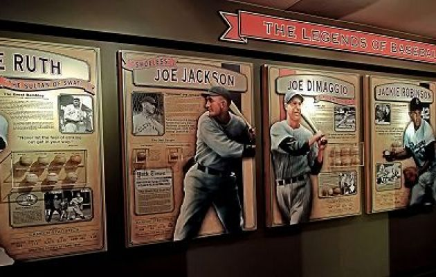 Schrader's Little Cooperstown, a world-class baseball exhibit in the St. Petersburg Museum of History.