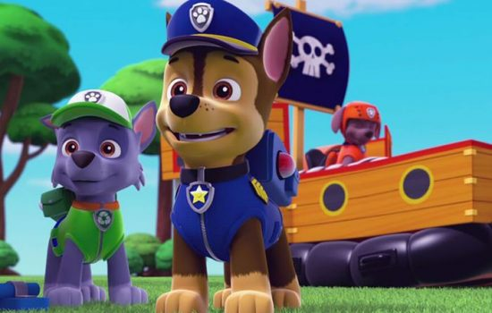 Social media users set sights on cartoon cop dog