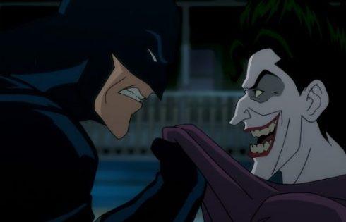 "Batman taking on The Joker in ""Batman: The Killing Joke"" photo courtesy of Fathom Events"