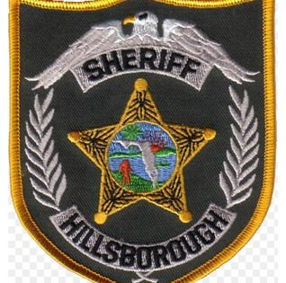 Hillsborough Sheriff office badge patch logo